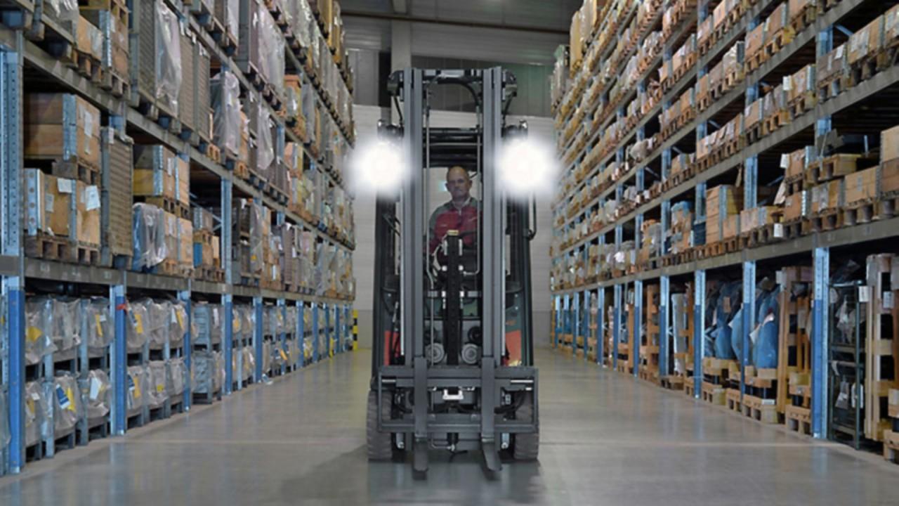 LED工作燈:高眩光效果